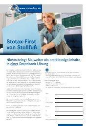 Stotax-First von Stollfuß