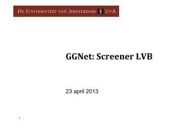 meten is zien: presentatie screeningslijst LVG - de ggz academie