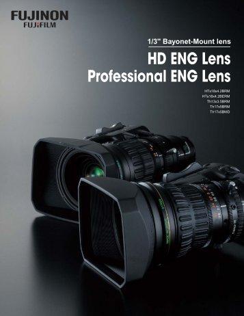 HD ENG Lens Professional ENG Lens - Fujinon