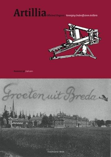 ArtilliaOfficieel Orgaan |Vereniging Onderofficieren Artillerie - VOOA
