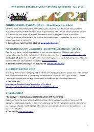 Nyhedsbrev BKN / september 2010 - Børnekulturelt Netværk ...