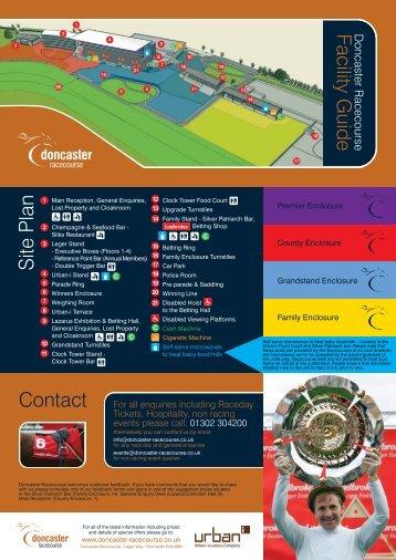 Location Map - Doncaster Racecourse