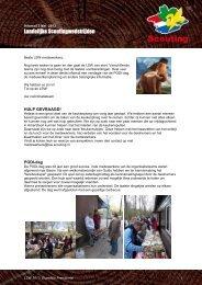 Klik hier voor nieuwsbrief 3 - Scoutingwedstrijden