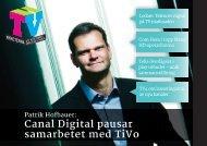 Canal Digital pausar samarbetet med TiVo - TV-Nyheterna