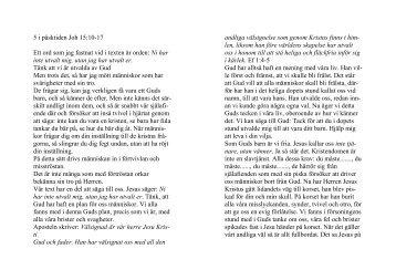 5 i påsktiden 2 årg Joh 15:10-17 - Erik Holmlund