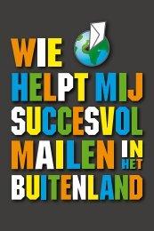 Wie helpt mij succesvol mailen in het buitenland? - PostNL