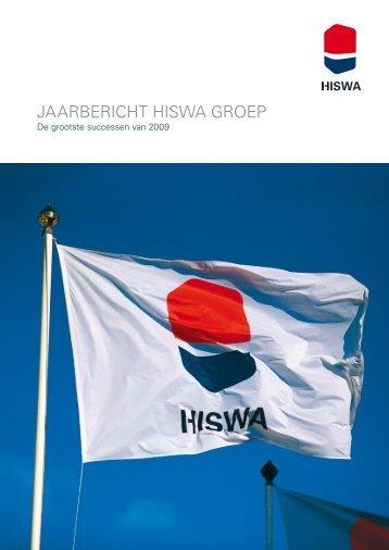 Jaarbericht hiSWa Groep