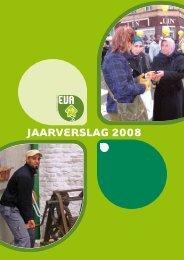 jaarverslag 2008 - EVA vzw