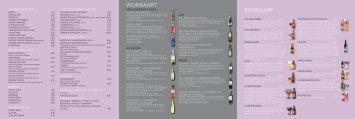 WiJnkaart Bierkaart - Restaurant Aa-zicht