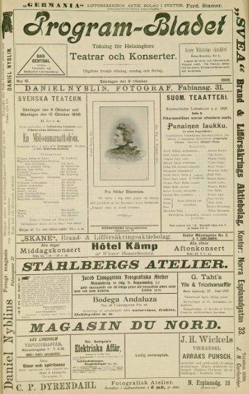 STAHLBERGS A.TELIER. - Doria
