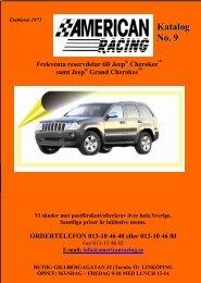 Jeep katalog No:9 - American Racing AB