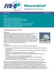 MHP nieuwsbrief 13.03 - VHP Akzo Nobel