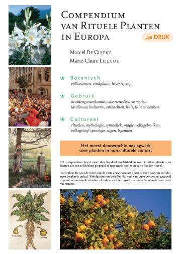 Compendium van Rituele Planten in Europa - Kunstgalerij Mens ...
