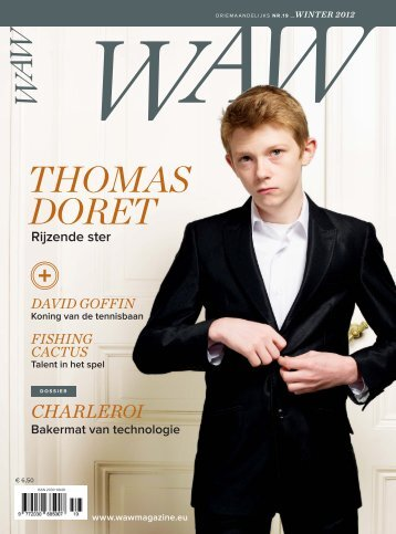 Thomas DoreT - WAW Wallonie Magazine