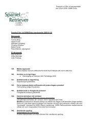 Protokoll nr 8 fört vid sammanträde den 20 jan 2009 i SSRK Östra ...
