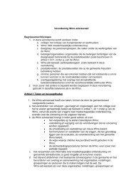 Bijlage voorstel, Verordening Wmo-adviesraad.pdf - Gemeente ...