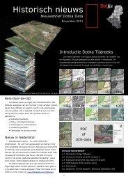 Nieuwsbrief november 2011 - Dotka Luchtfoto's en kaarten