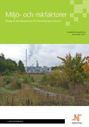 Miljö- och riskfaktorer - Norrköpings kommun
