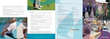 Folder 'Sportief bewegen met een hoge bloeddruk' - Sportzorg