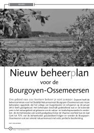 Nieuw beheerplan - Natuurpunt Gent