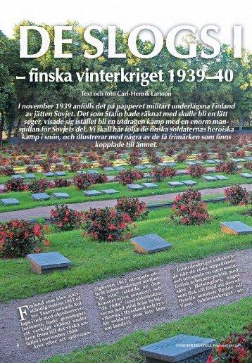 Finska vinterkriget - Nordisk Filateli