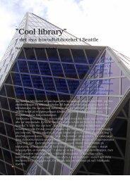 Rapport från huvudbiblioteket i Seattle