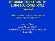 Läs vidare! - Alfa-1 Sverige Riksförening