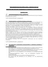 Verslag gemeenteraad 22 december 2011 - Gemeente Sint-Pieters ...