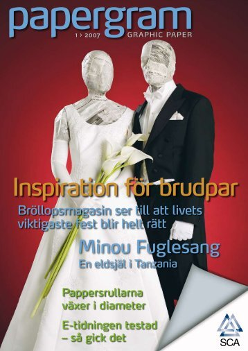 Inspiration för brudpar - SCA