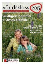 Utvecklingsarbetet i Örnsköldsvik.pdf - Örnsköldsviks kommun