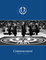 here - Commencement - University of Connecticut