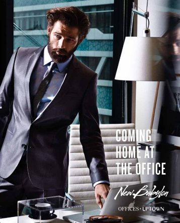 COMING HOME AT THE OFFICE - New Babylon