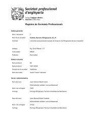 Informe societat professional 7 - Col·legi d'Enginyers Tècnics ...