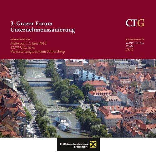 3. Grazer Forum Unternehmenssanierung