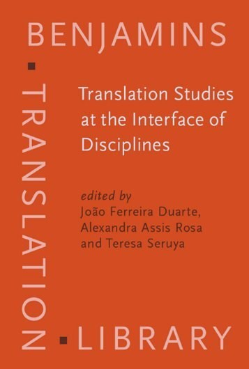 Translation Studies at the Interface of Disciplines ... - Parent Directory