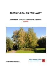 Flora en fauna - Gemeente Woerden