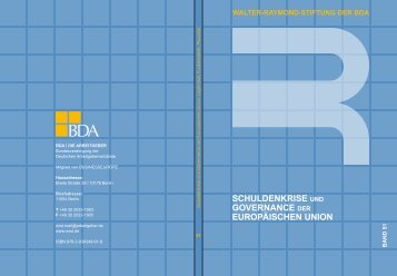 Schuldenkrise und Governance der Europäischen Union