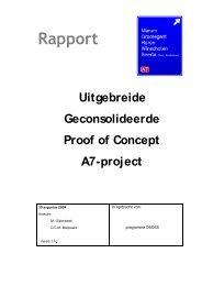 Proof of Concept A7-project - Harken en Vorken