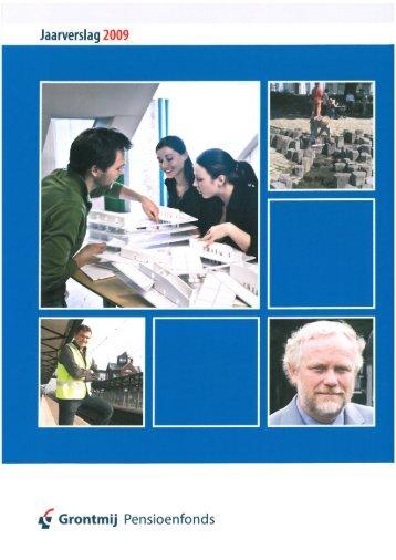 Jaarverslag 2009 (PDF) - Stichting Pensioenfonds Grontmij