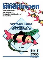 Okt. 2005 - Vestsjællands Akvarie- og Terrarieklub