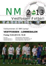 NM kamp - Vestfossen IF
