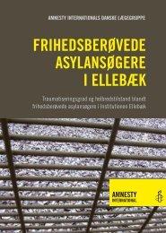 Frihedsberøvede asylansøgere i Ellebæk - Amnesty International