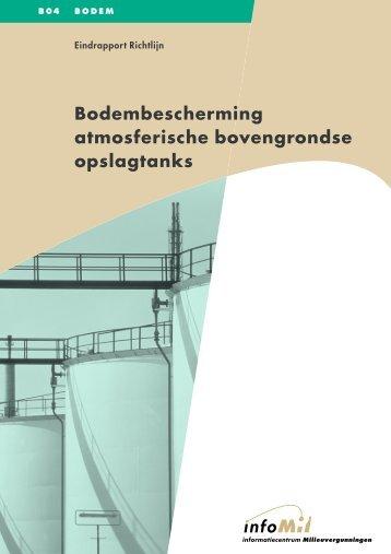 Bodembescherming atmosferische bovengrondse opslagtanks