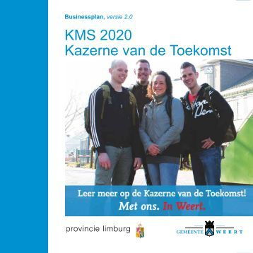 Businessplan KMS 2020 versie 2.0 - Gemeente Weert