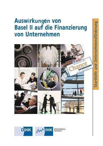 Auswirkungen von Basel II auf die Finanzierung von Unternehmen