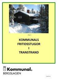 Stugbroschyr - Kommunal