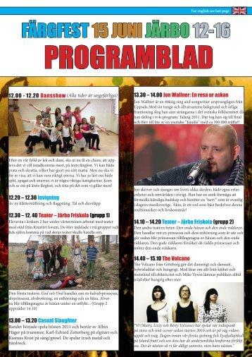 Ladda ner programbladet (PDF) - Färgelanda kommun