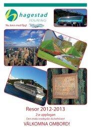 Resor 2012-2013 - Hagestad Touring