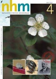nhm 4 april 2010 - Natuurhistorisch Genootschap in Limburg