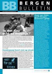 Bergen Bulletin april 2013 - Stichtingdebergen